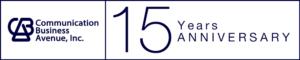 Communication Business Avenue, Inc. 15 Years Anniversary